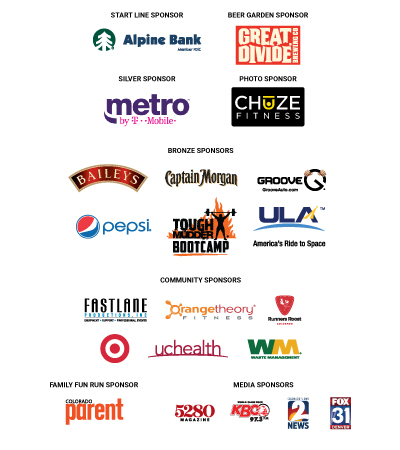 Mile High United Way 46th Annual Turkey Trot Sponsors