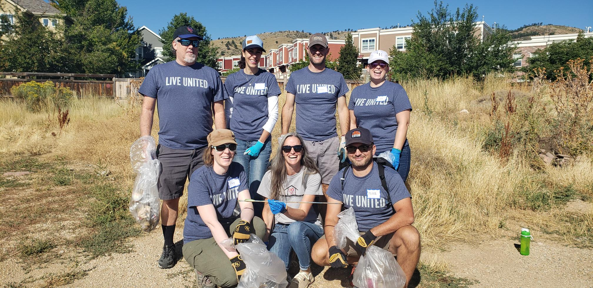 Day of Caring volunteer event with Foothill United Way - Mile High United Way