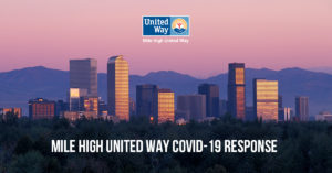 Mile High United Way COVID Response in Colorado