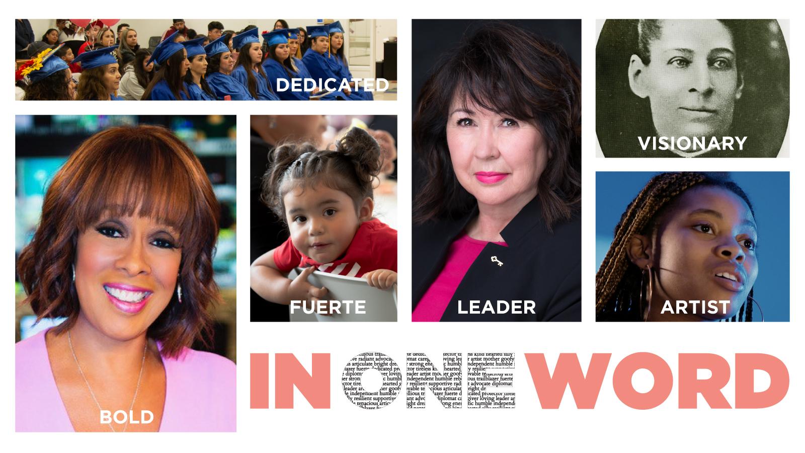 In One Word Women United Luncheon header