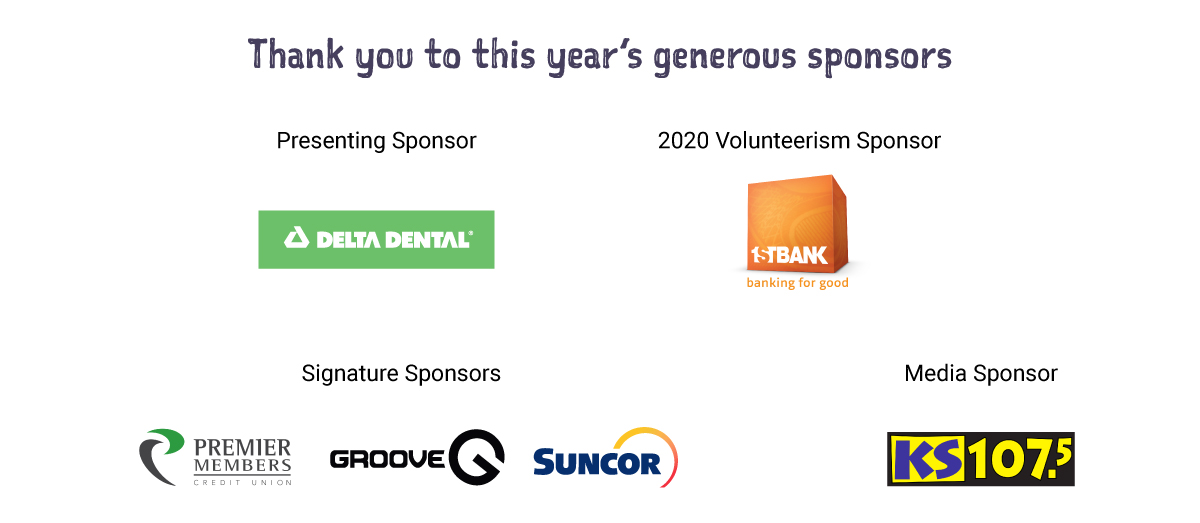 Thank you to our 2020 Children's Holiday Sponsors!
