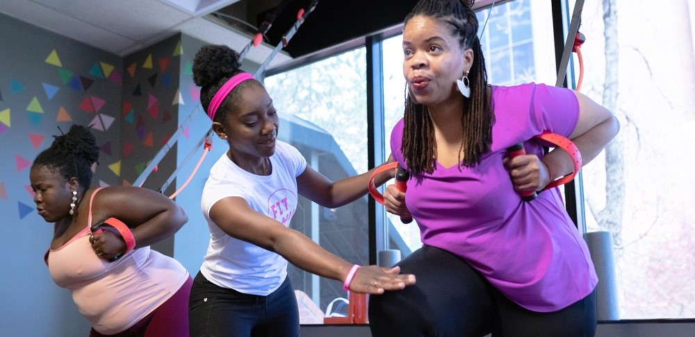 Fit & NU is a small business in Denver that provides a safe space for women of color to focus on their physical and mental health